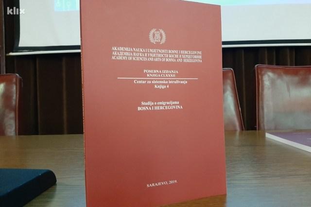 ''Studija o emigracijama: Bosna i Hercegovina'' (Foto: Klix.ba)