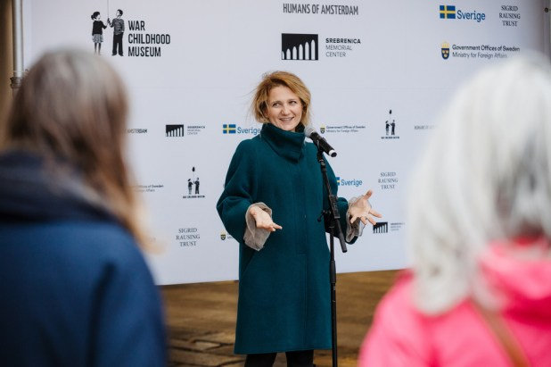 Amina Krvavac: Efikasan alat protiv revizionizma i dehumanizacije (Foto: Muzej ratnog djetinjstva)