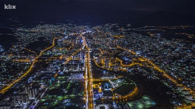 Prekrasni prizori Sarajeva bez