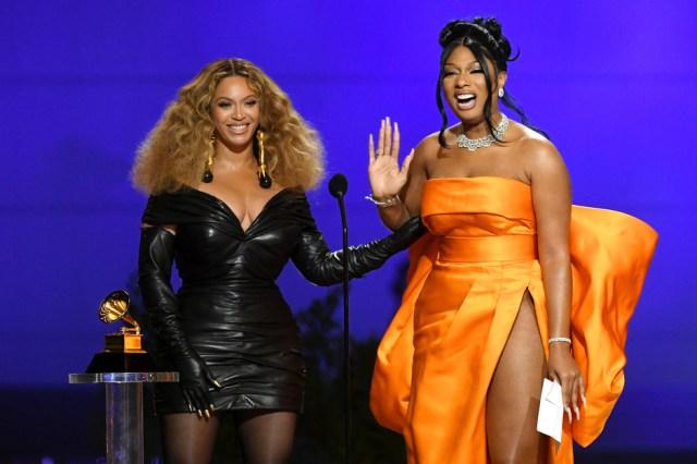 Beyonce i Meghan Thee Stallion (Foto: EPA-EFE)