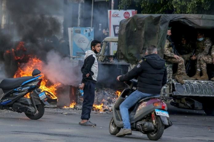 Protesti su postali svakodnevnica Libana i Bejruta (Foto: EPA-EFE)