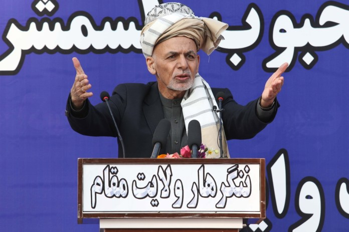 Ashraf Ghani (Foto: EPA-EFE)