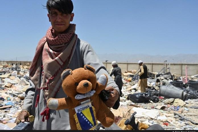 Zanimljiv detalj u bazi Bagram (Foto: Novinska agencija FARS)