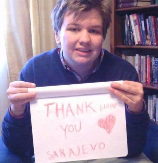 Majka autističnog dječaka Harisa Lindsayja: Hvala drago Sarajevo, vi ste spasili mog Harija