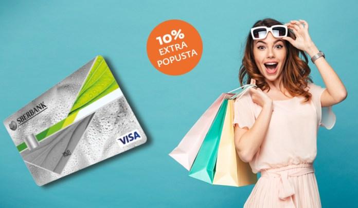 Nove pogodnosti Sberbank kartice na rate