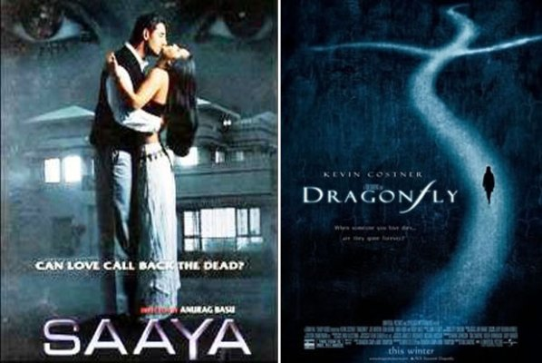 Saaya (2003) and Dragonfly (2002) Movie Poster