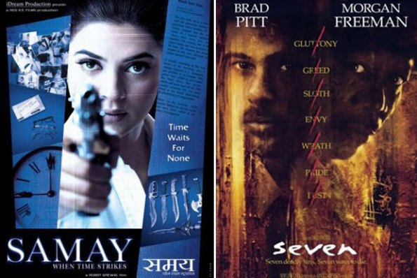 Samay: When Time Strikes (2003) and Seven (1995) Movie Poster