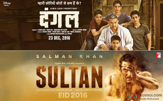 Box Office - Dangal trumps Sultan, crosses 300 crore, becomes highest grosser of 2016