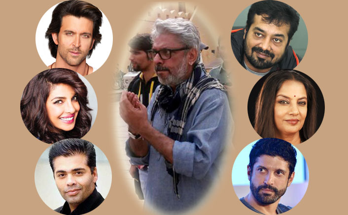 Celebrities 'appalled' over Bhansali attack