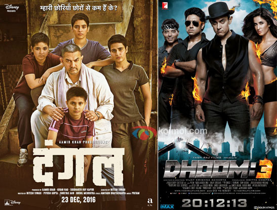 Dangal Beats Dhoom 3's Lifetime Collections To Become 4th Highest Grosser Of All Time