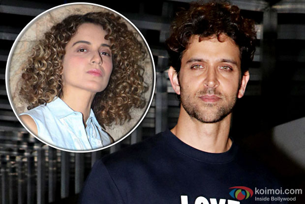 Hrithik Roshan Refers To Kangana As 'Mild Irritant'