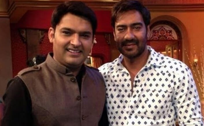 Not angry with Kapil Sharma: Ajay Devgn