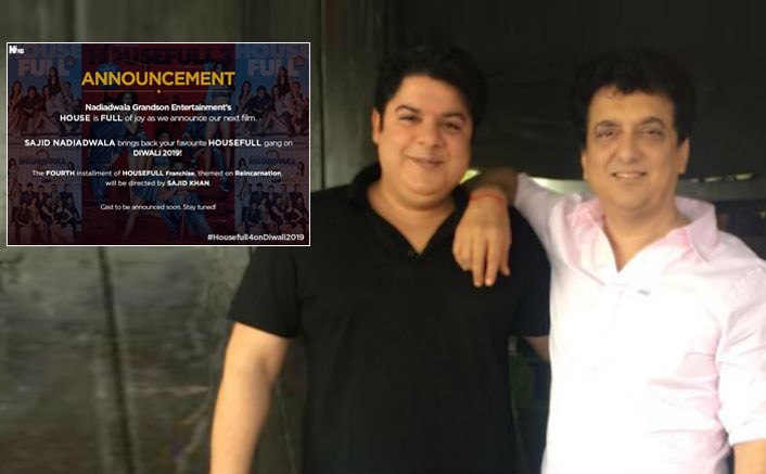 Sajid Nadiadwala sets 200 crore budget for Sajid Khan's Housefull 4?