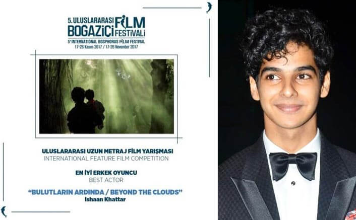Ishaan Khatter wins Best Actor award at Turkish film fest