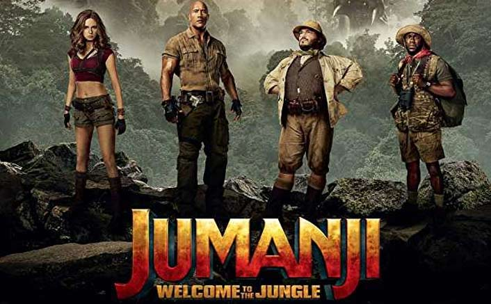 Jumanji: Welcome To The Jungle Crosses The 40 Crore Mark At The Box Office