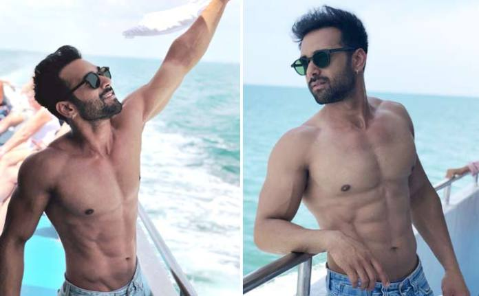 Pulkit Samrat enjoys water sports in Thailand!