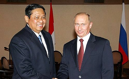 Meeting With The President Of Indonesia Susilo Bambang Yudhoyono