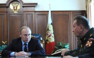 Владимир Путин принял решение осоздании набазе внутренних войск МВД Национальной гвардии. Сглавнокомандующим внутренними войсками МВД Виктором Золотовым.