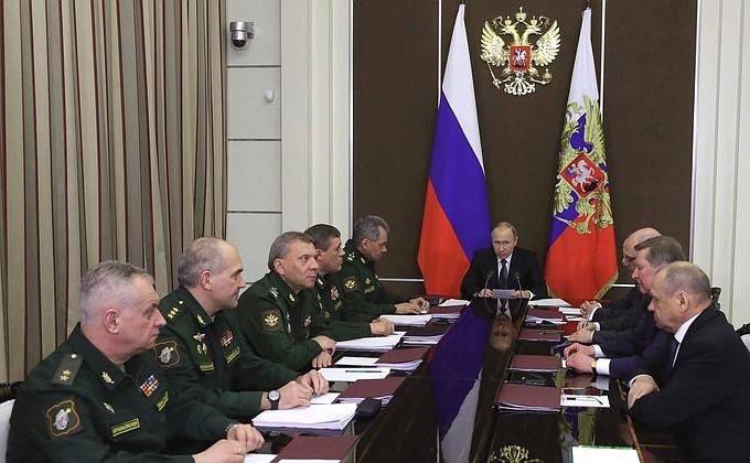 Spotkanie z kierownictwem Ministerstwa Obrony oraz przedstawiciele przedsiębiorstw przemysłu obronnego