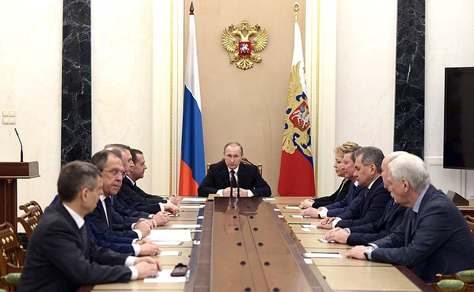 Meeting with permanent members oftheSecurity Council