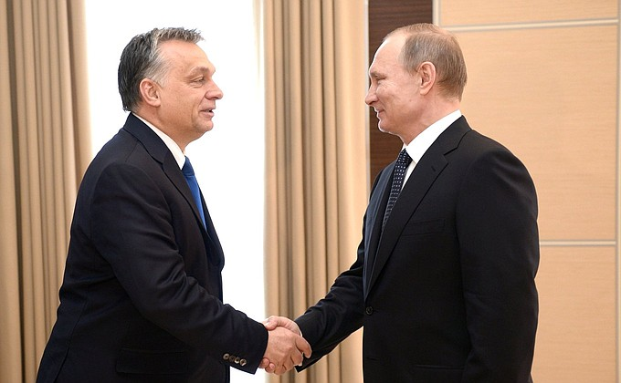 Meeting with Hungarian Prime Minister Viktor Orban