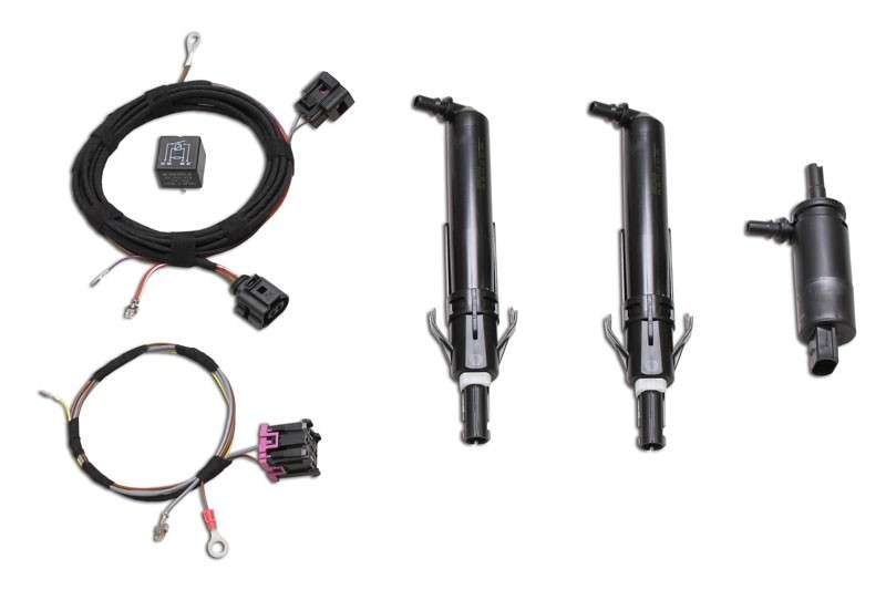 Headlight washer system Retrofit for VW Polo 6R