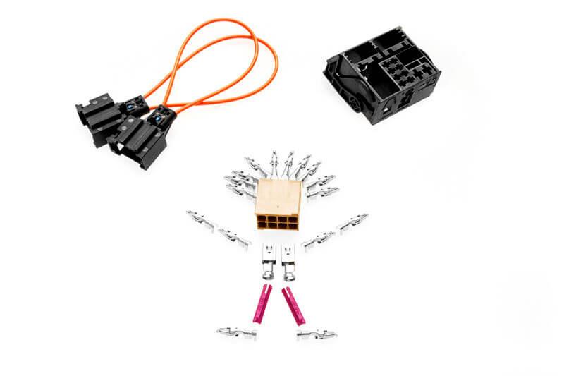 Cable set retrofit MMI basic to MMI 3G High for Audi A4 8K
