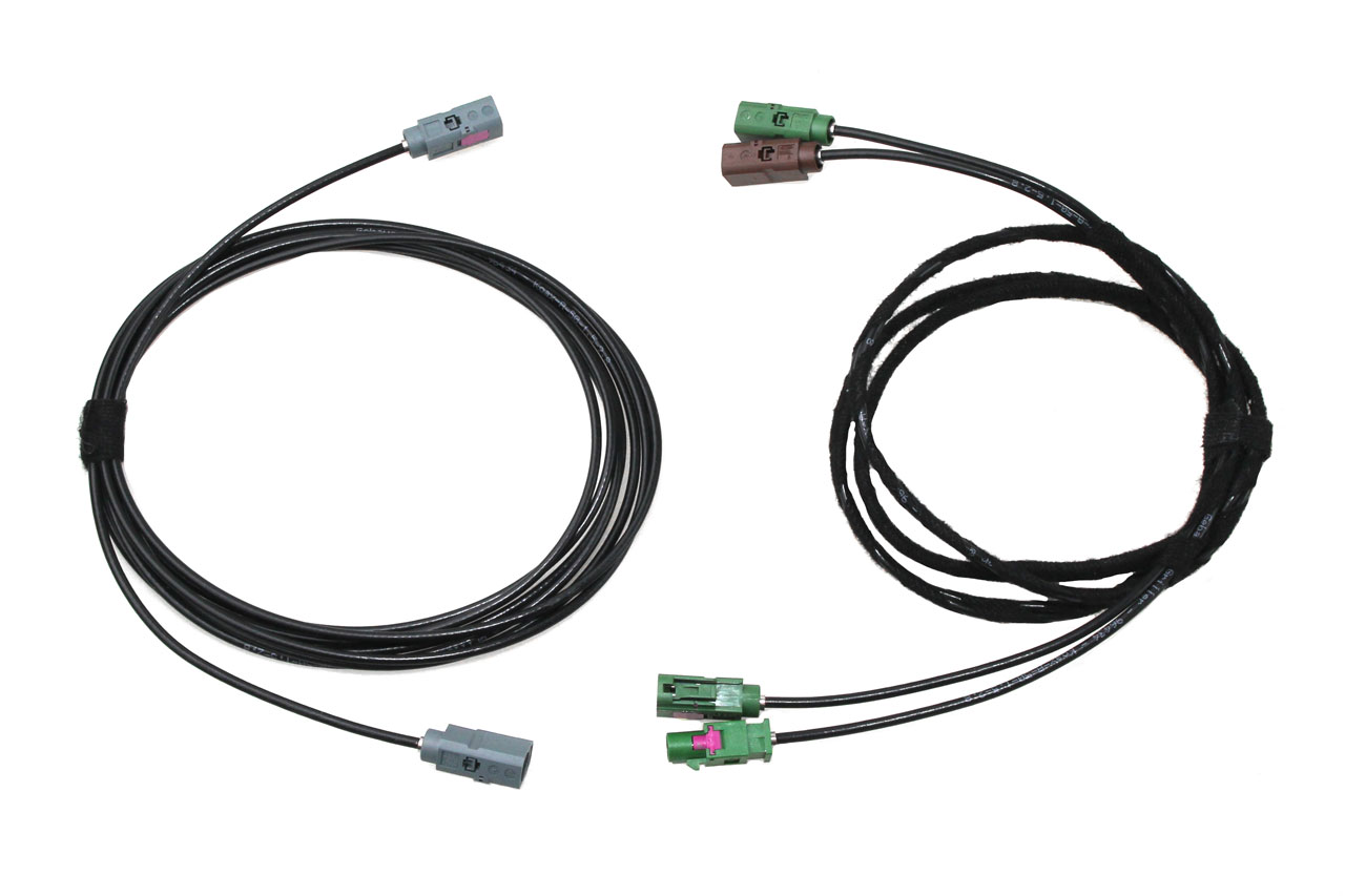 APS Advanced Rear View Camera cable set for Audi A8 4E MMI 2G