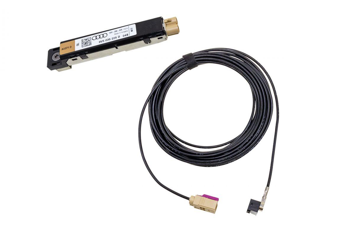 Retrofit set DAB, DAB + antenna module for Audi A3 8V