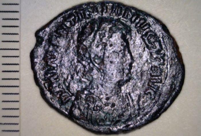 Так выглядели монеты 306-518 г.г. н.э.