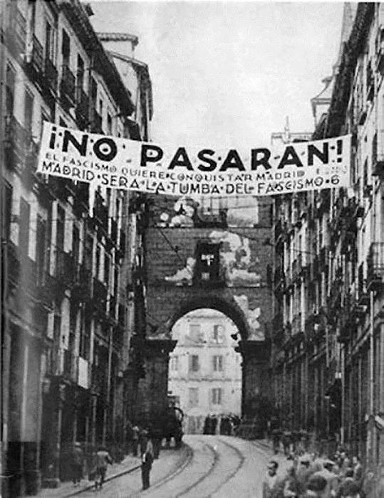 Pas de Pasaran! - cri de guerre. | Photo: cs8.pikabu.ru.
