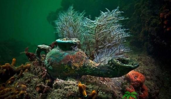 Многие ценные артефакты хранили морские глубины.