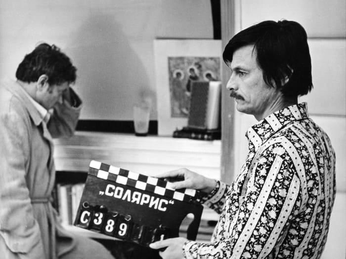 Тарковский на съемках фильма *Солярис* | Фото: trinixy.ru