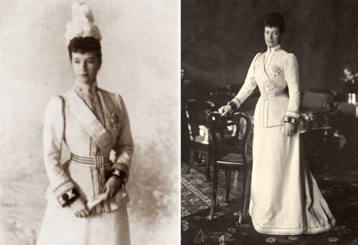 Предпоследняя российская императрица | Фото: dagmaria.dk и storyfiles.blogspot.com