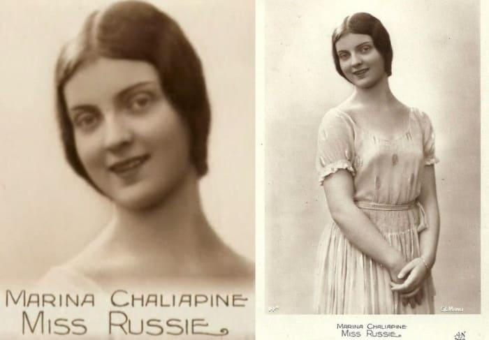 Мисс Россия-1931, Париж | Фото: spektrnews.in.ua и missrussia.ru