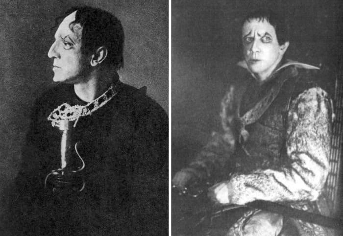 Сценические образы Михаила Чехова, 1922 | Фото: mihail-chehov.ru
