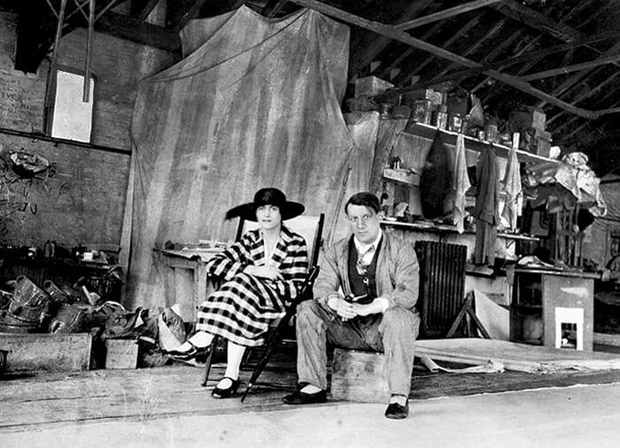 Ольга Хохлова и Пабло Пикассо, 1919 | Фото: picassolive.ru