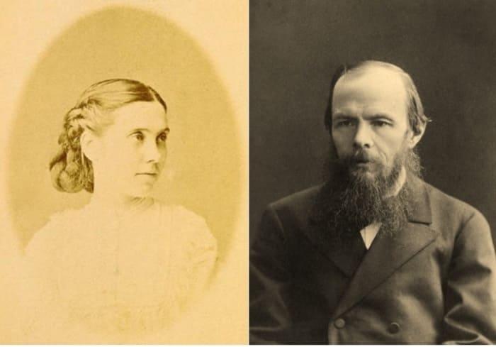 Слева – Аполлинария Суслова. Справа – Федор Достоевский   Фото: archive.fo