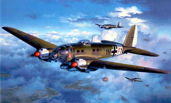 «Хейнкель-111» - немецкий бомбардировщик периода Второй мировой войны. | Фото: armedman.ru.