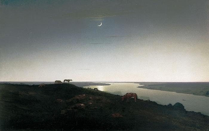 «Ночное» (1905—1908). Автор: Архип Куинджи.