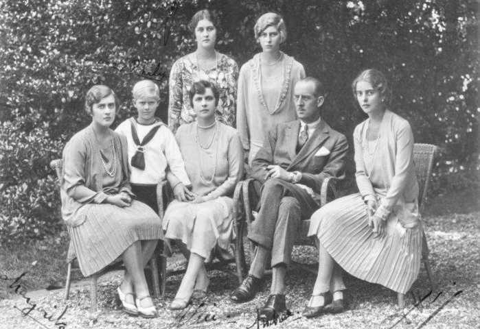 Семья принца Андрея