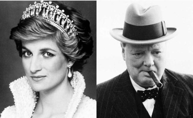 Диана, принцесса Уэльская, Уинстон Черчилль