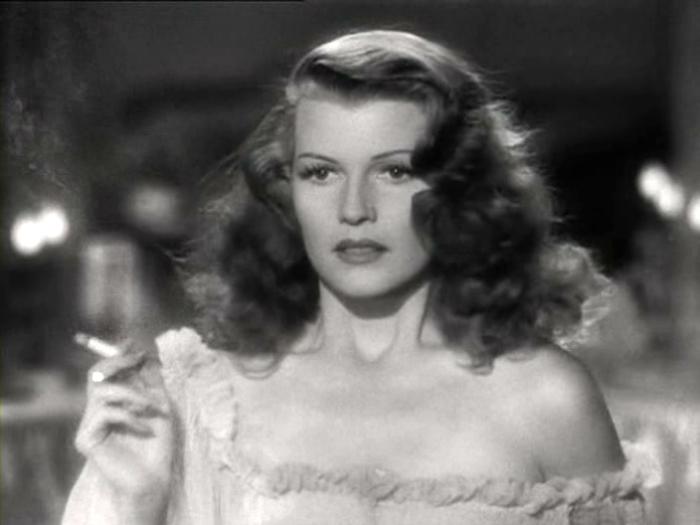 Кадр из к/ф «Джильда» (1946).