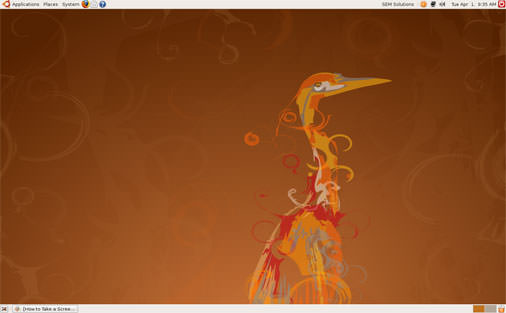 Ubuntu 8.04 LTS Desktop Edition