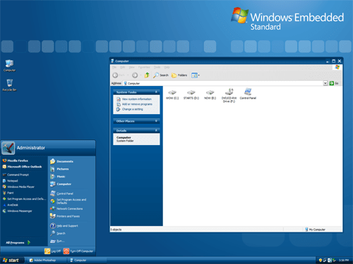 Microsoft Windows Official Embedded Theme XP and 2003