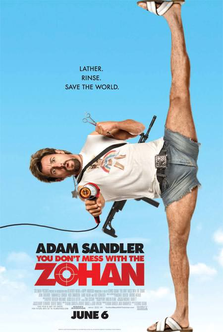 You Don't Mess With The Zohan is Great