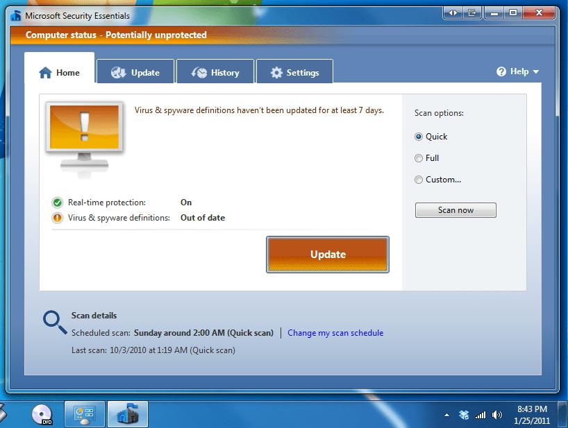 How Little I Use Windows