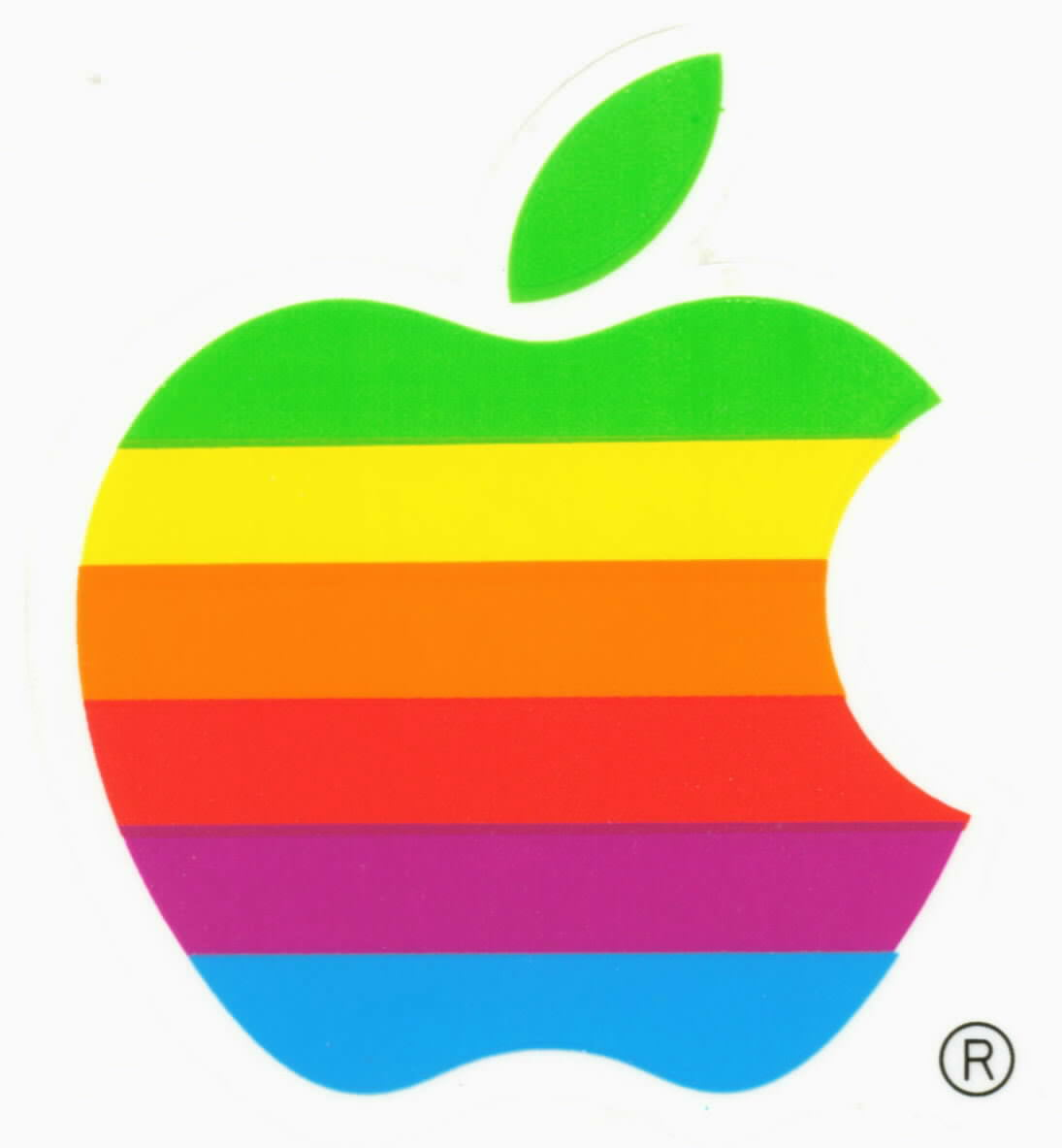 Retro Macintosh Apple Logo