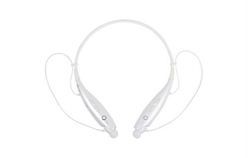 white LG tone & headset, Bluetooth 3.0