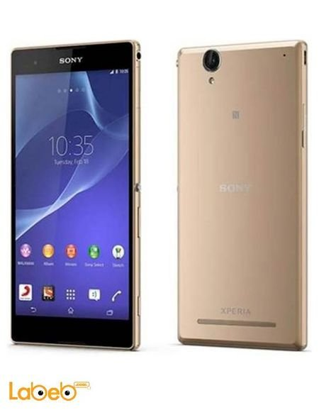 Sony Xperia T2 Dual Ultra 6 Inch 8gb Gold Color D5322